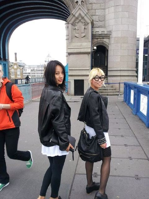 Lee Hyori in London