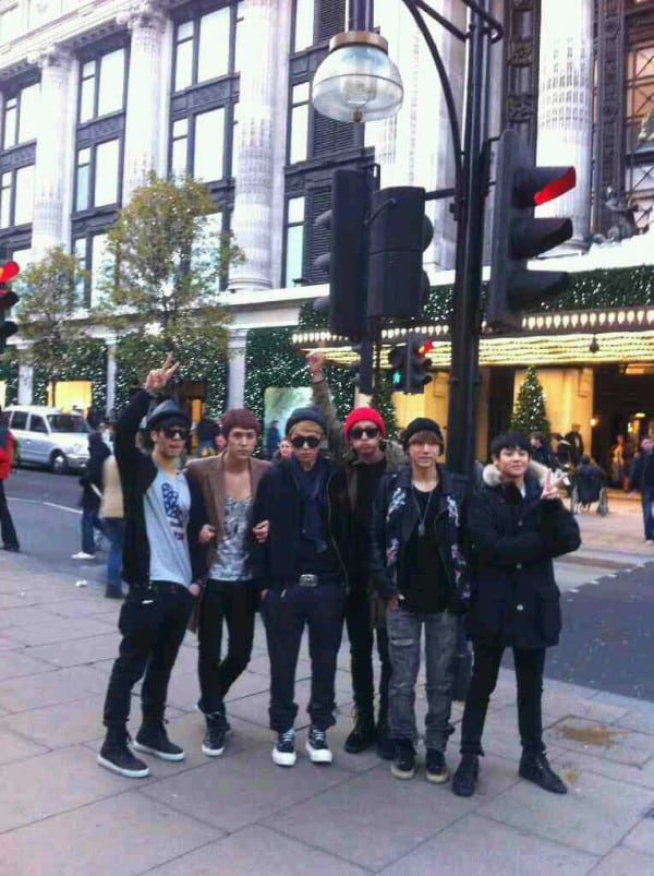Beast on Oxford Street