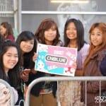 CNBLUE fans in London