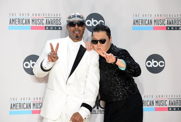 Psy and MC Hammer
