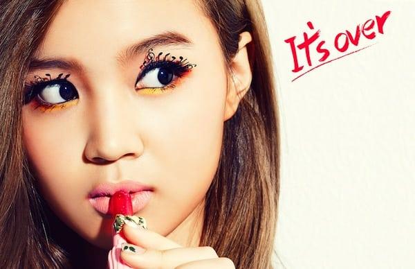 Lee Hi 4th teaser for comeback in March