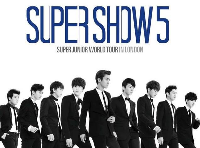 London Super Junior concert
