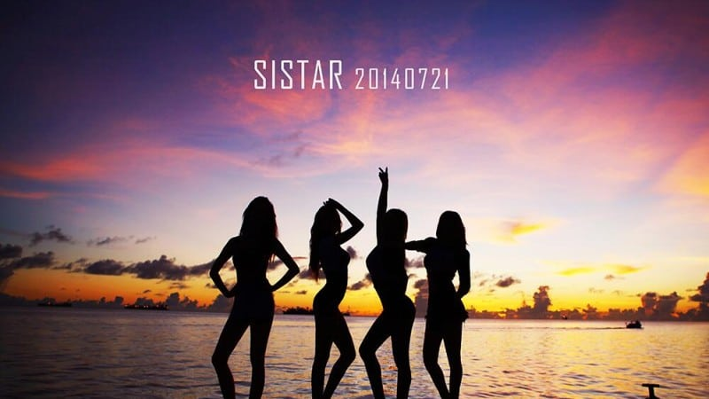 SISTAR comeback 2014