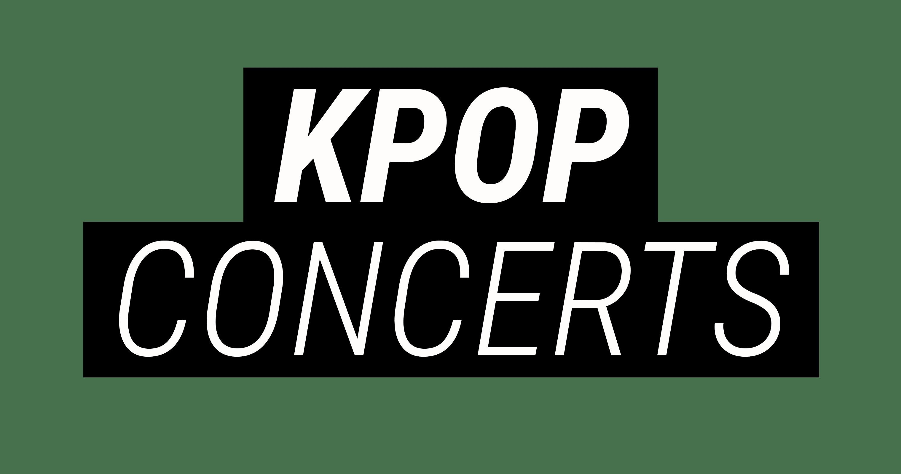 K-Pop Concerts