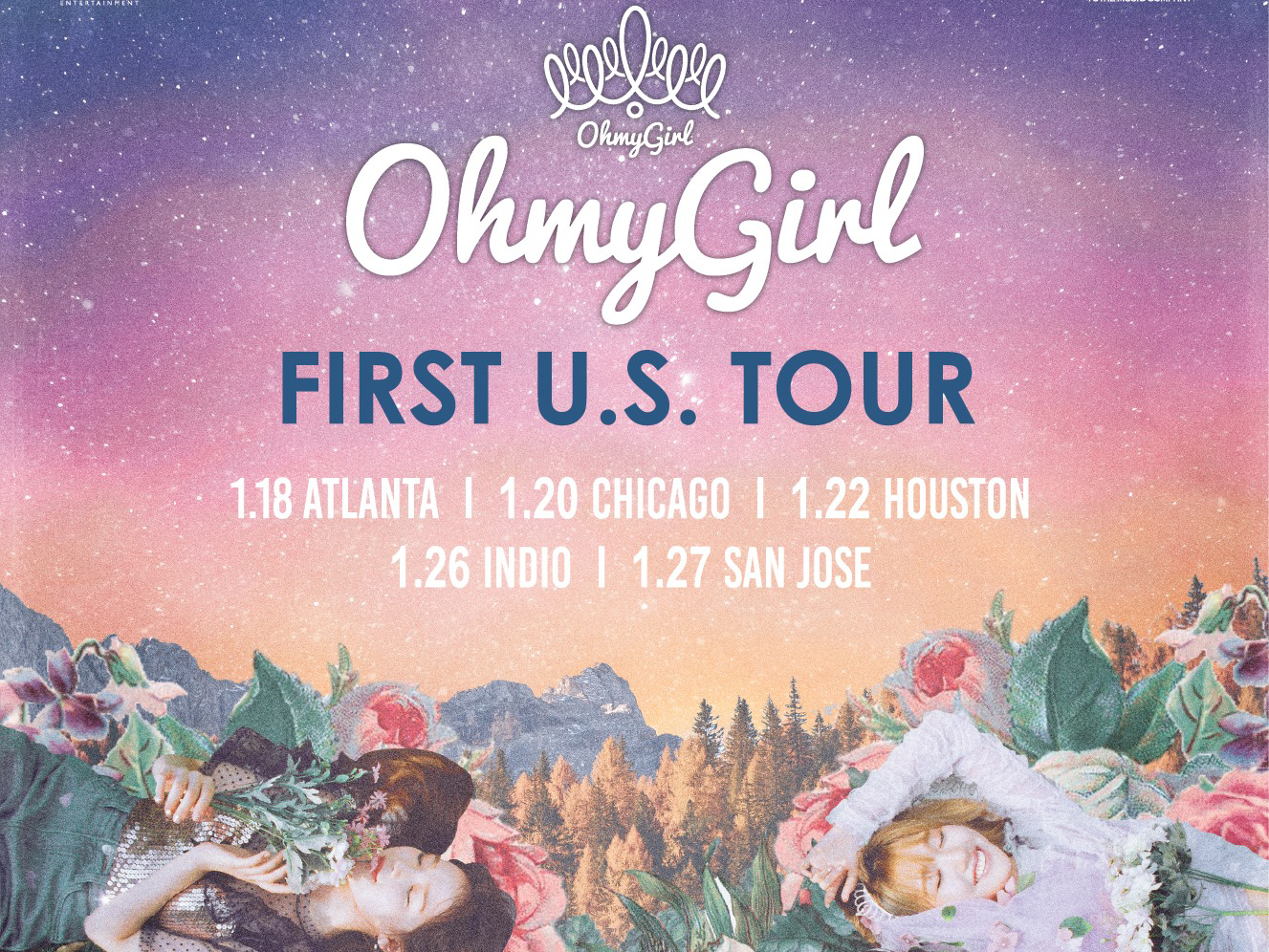 Oh My Girl to Embark on 1st US Tour - K-Pop Concerts
