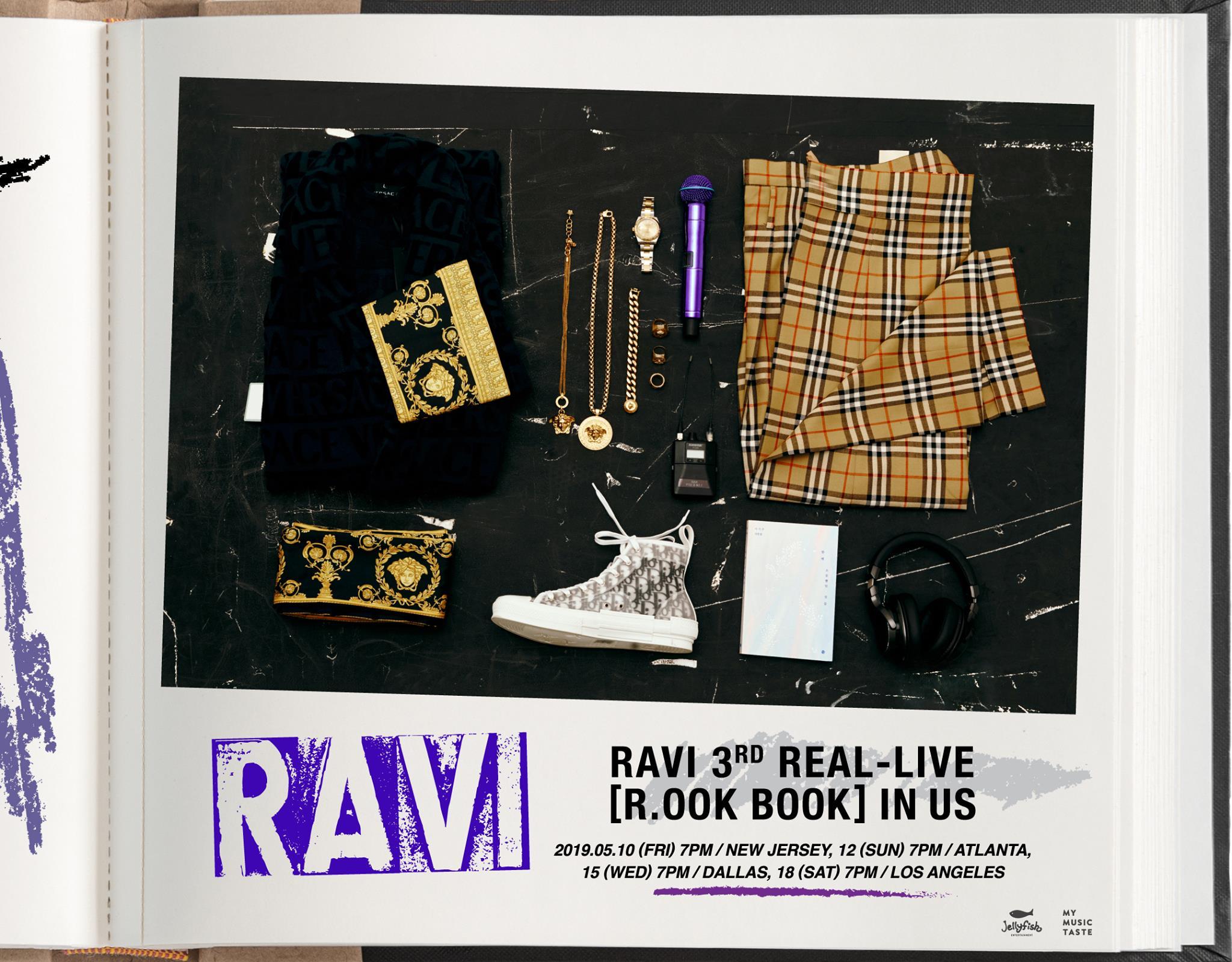 TOUR: RAVI to Embark on '3RD REAL-LIVE