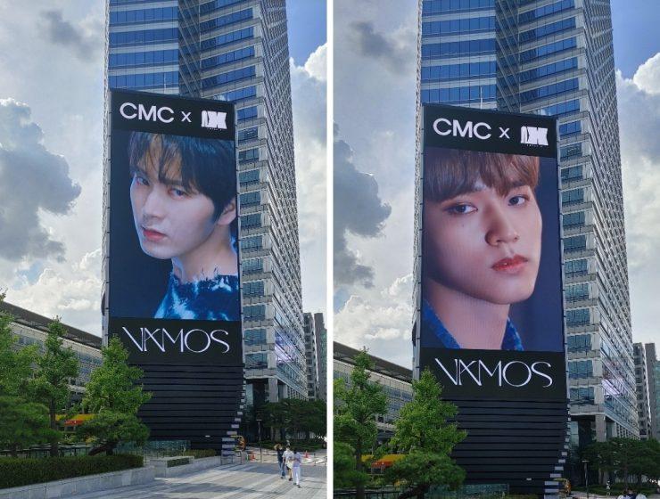 Omega X on COEX digital billboards.