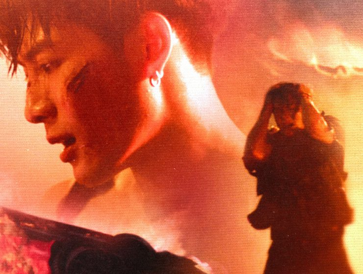 "Screenshot from Jackson Wang's ""Drive You Home"" music video"