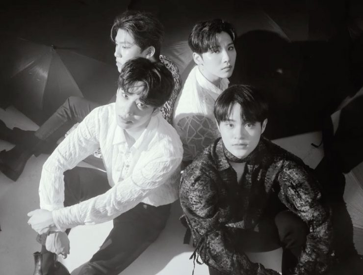 """AB6IX for their single """"Walking in The Rain"""" for the Brand New Music 'TEN PROJECT'"""