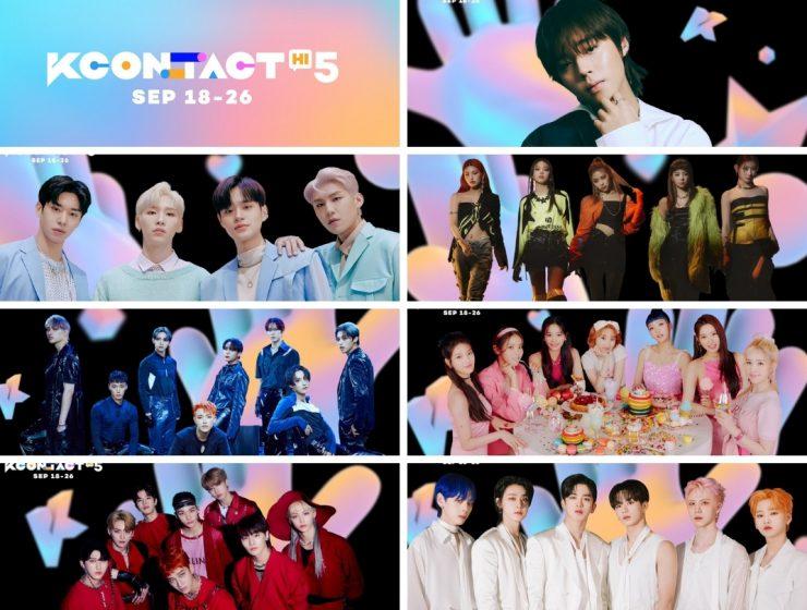 KCON:TACT HI 5 3rd lineup